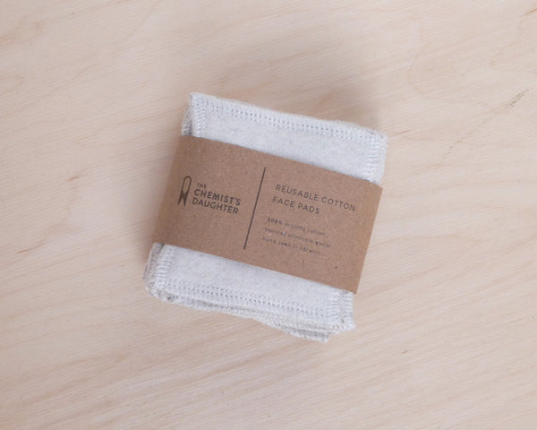Organic Cotton Reusable Makeup Wipes