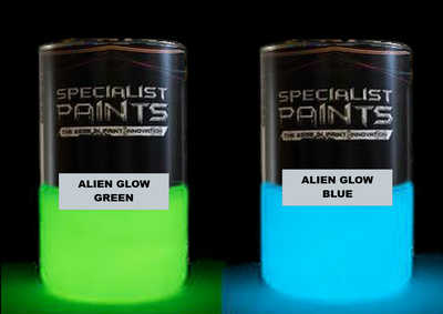 Alien Glow Colors
