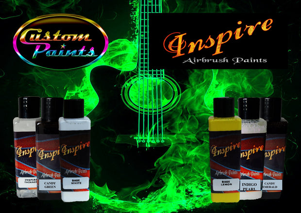 Inspire Airbrush Green Fire Kit