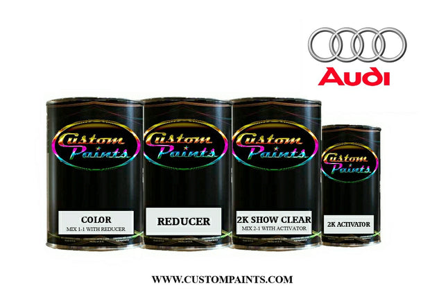 Audi: Havanna Black Metallic - Paint code LY8X