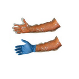 Nitrile long cuff tear resistant examination gloves (Box of 100)