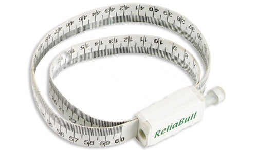 ReliaBull scrotal circumference measuring tape for rams and bulls