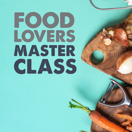Cambridge - 19 June 2021 - Foodlovers Masterclass