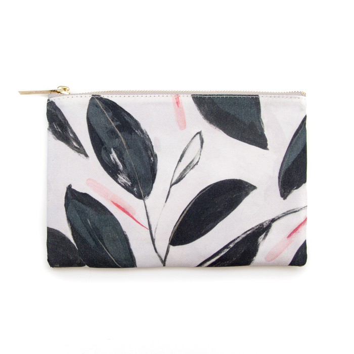 SALE - The Everything Clutch - Foliage
