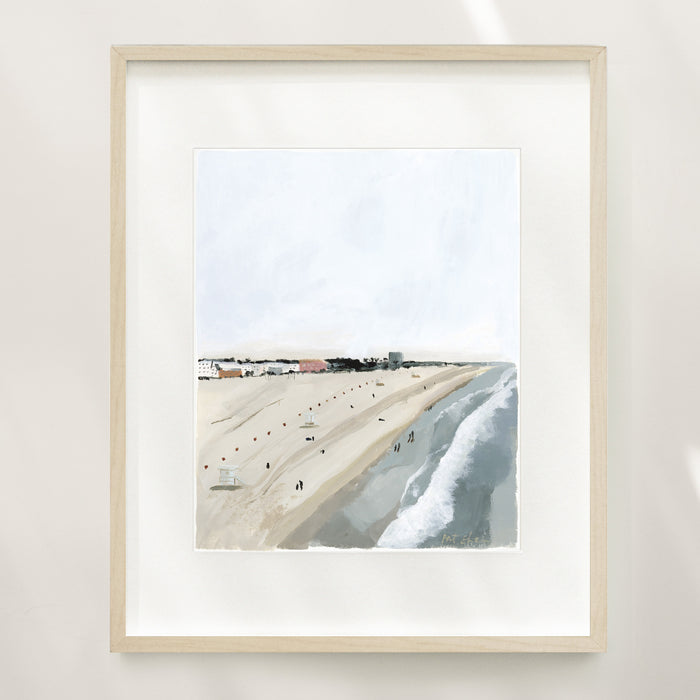 Above The Coast Limited Edition Art Print