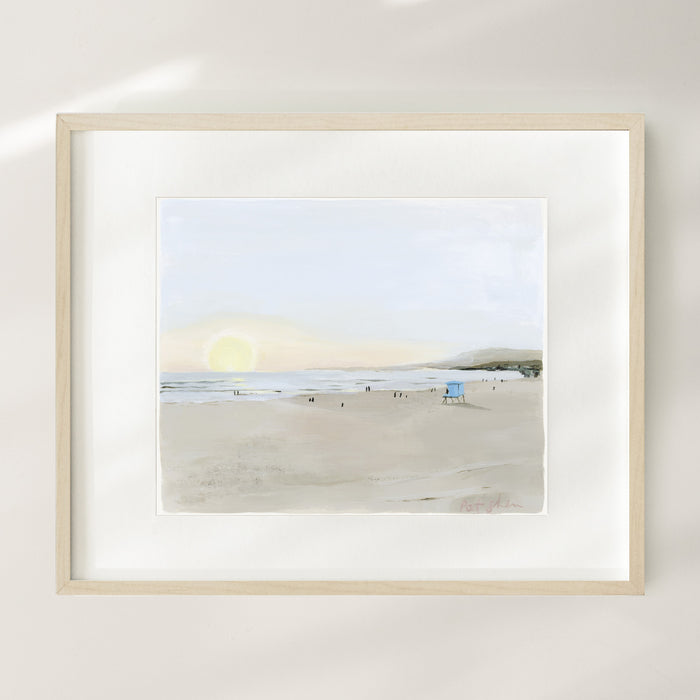 Along The Coast Limited Edition Art Print