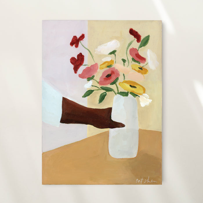 Blooms For The Table Limited Edition Art Print