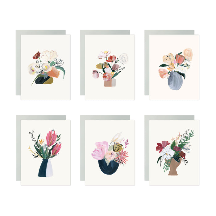 Bouquet Assorted Card Set