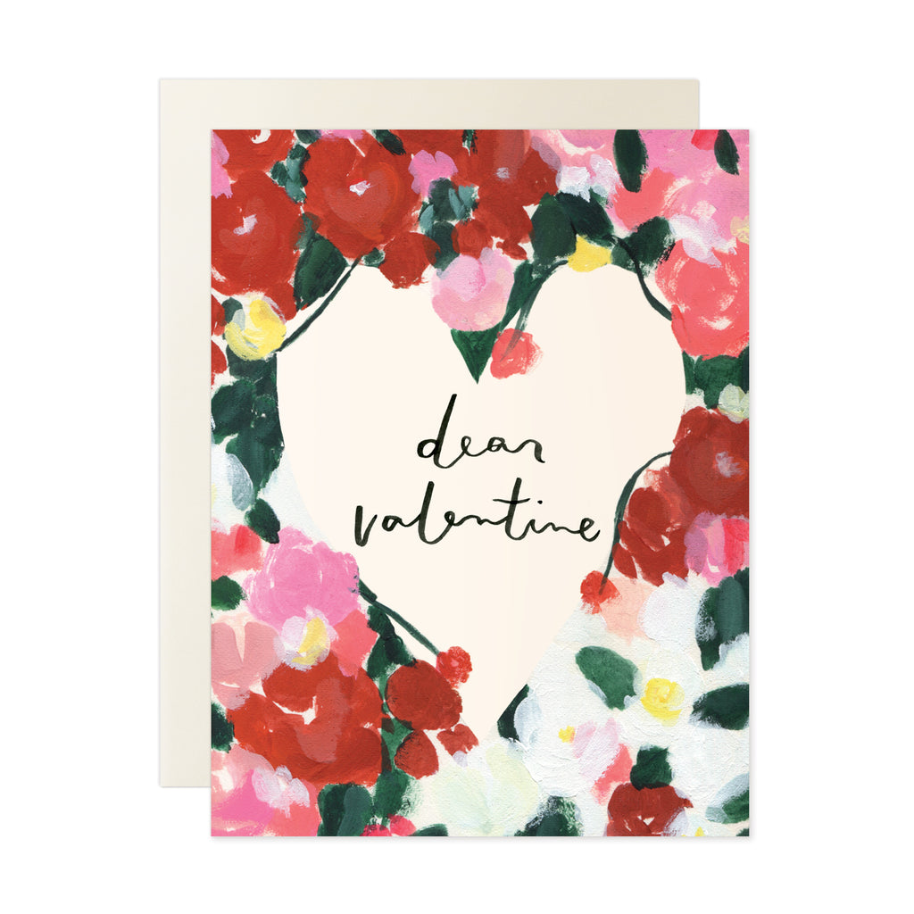 Dear Valentine Card