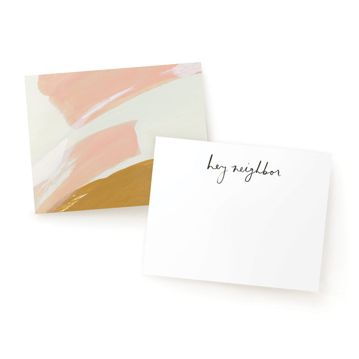 SALE - Neighborly Notes - Ochre