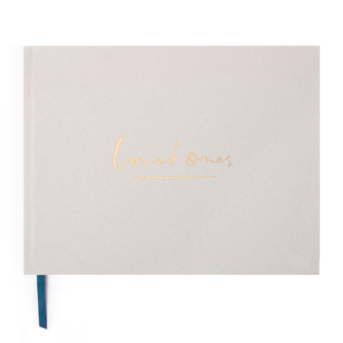 Loved Ones Guestbook - Sand