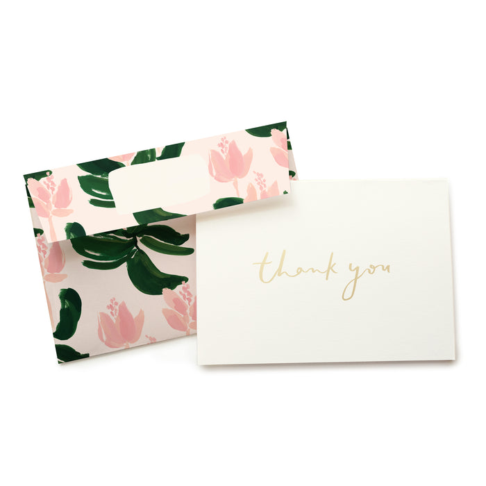 Medinilla Thank You Card