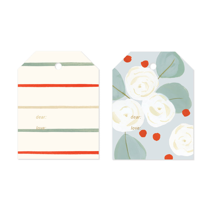 Eucalyptus Holiday Gift Tag Set