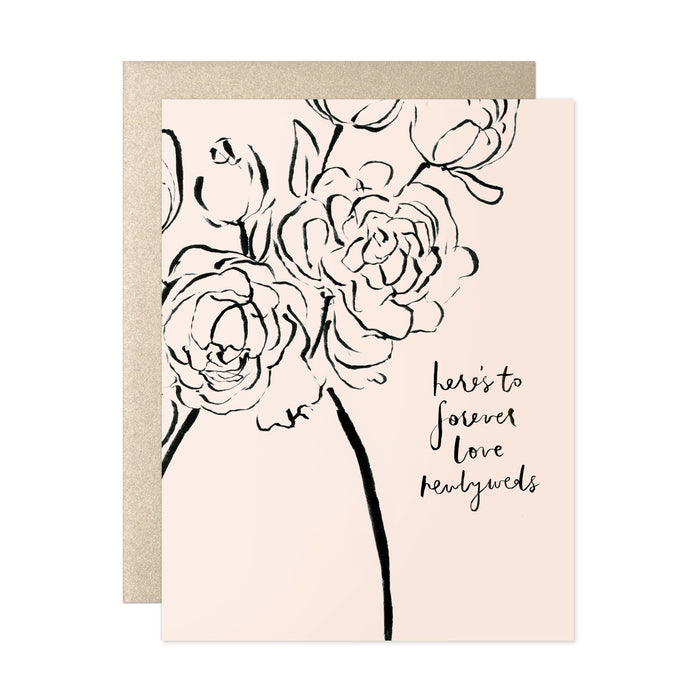 Here's To Forever Love Card