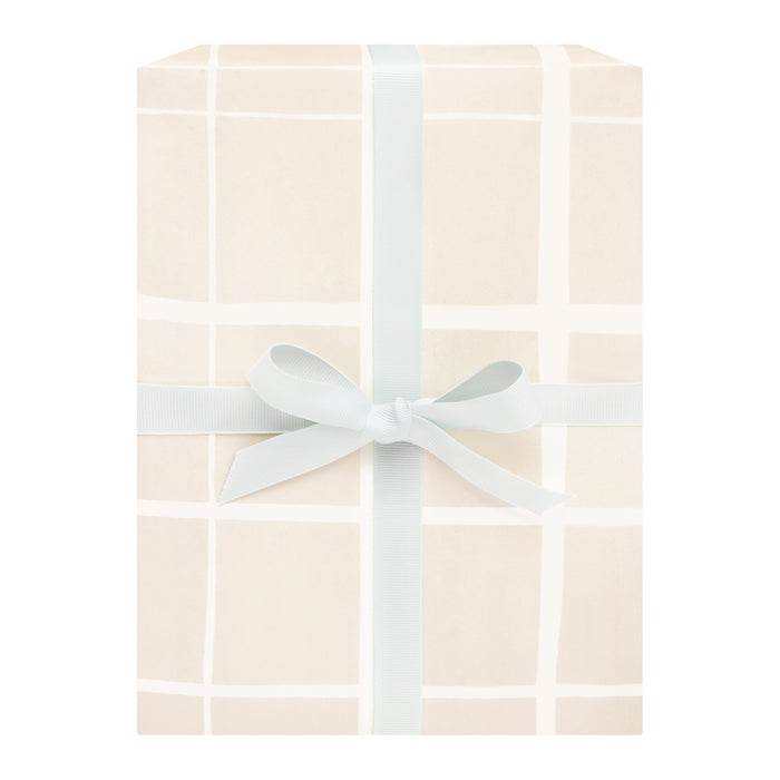 Honey Grid Gift Wrap