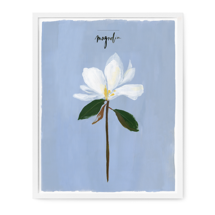 Single Stem Series - Magnolia Print