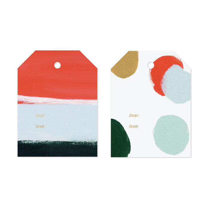 Merry Holiday Gift Tag Set