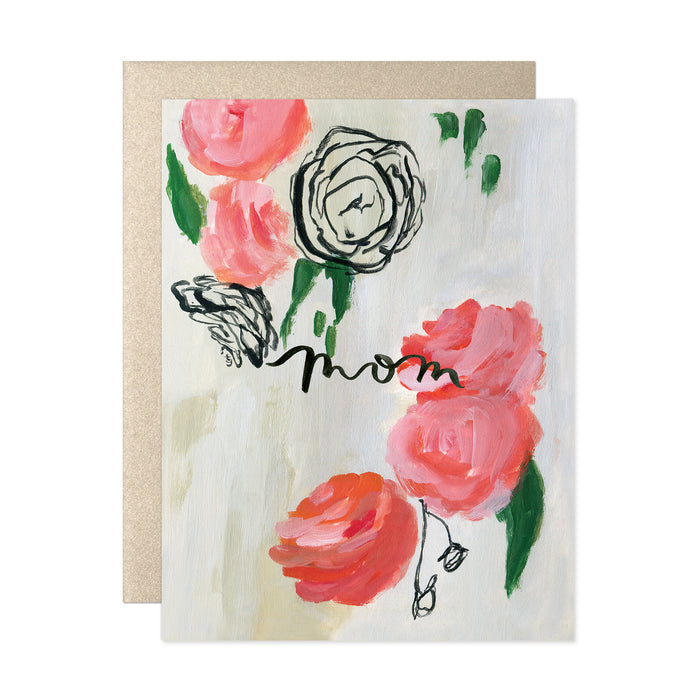 Mom Ranunculus Card
