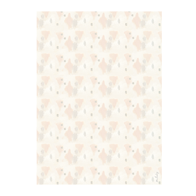 Neutral Strokes Gift Wrap