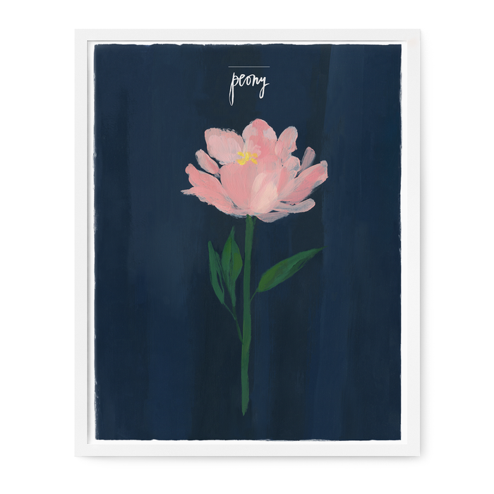 Single Stem Series - Peony Print