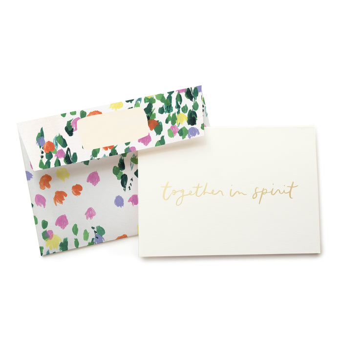 Tulips Together In Spirit Card