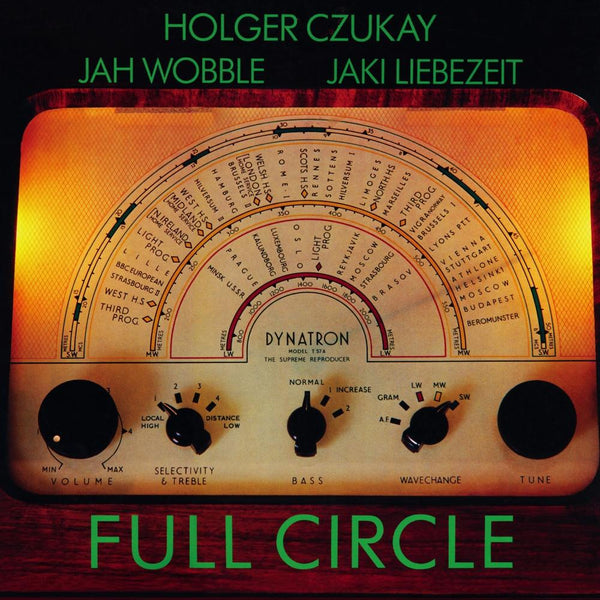 HOLGER CZUKAY, JAH WOBBLE, JAKI LIEBEZEIT『Full Circle』CD