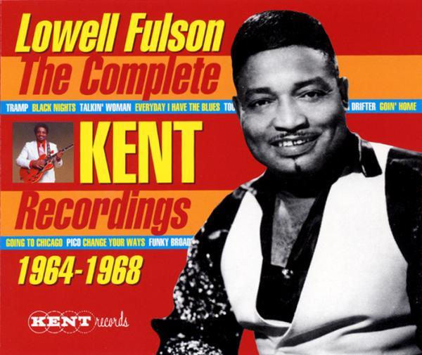 LOWELL FULSON『The Complete Kent Recordings 1964-1968』4CD