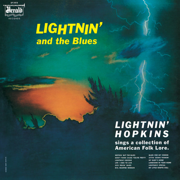 【ご予約】LIGHTNIN' HOPKINS『Lightnin' And The Blues』LP