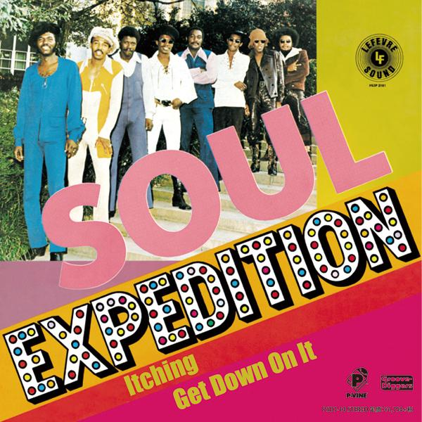 FREDDIE TERRELL AND THE SOUL EXPEDITION『Itching / Get Down On It』7inch