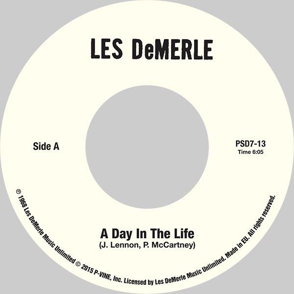 LES DEMERLE『A Day In The Life / Aquarius』7inch