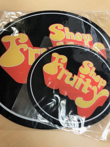 "『FRUITYSHOP 7"" Slipmat』"