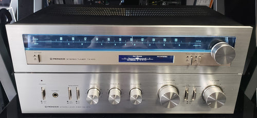 Pioneer SA-410 (20W/Ch) Integrated Amplifier & TX-410 Tuner Set