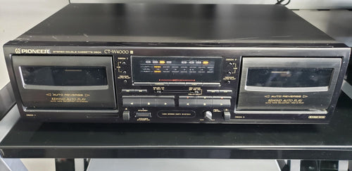 Pioneer CT-W4000 Double Cassette Deck