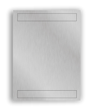 "Load image into Gallery viewer, Picplates Aluminum Photo Panel - 5"" x 7"" - Semi-Gloss White"