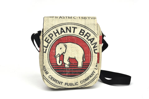 Shoulder bag - Long flap - Elephant brand
