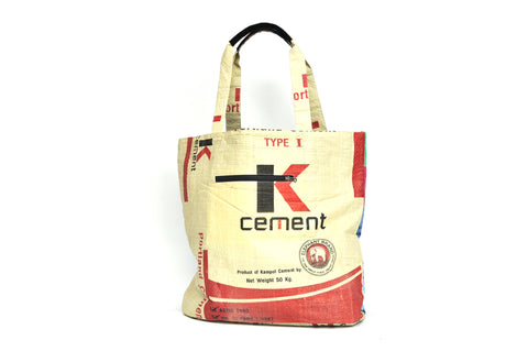 Shopper/Beach bag - K cement