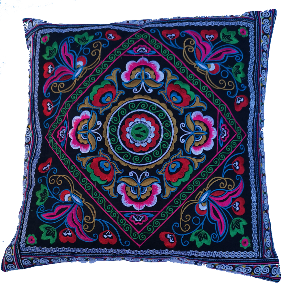 Hmong design cushion - Pai