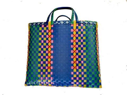 Burmese shopper - Blue