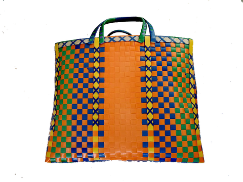 Burmese shopper - Orange