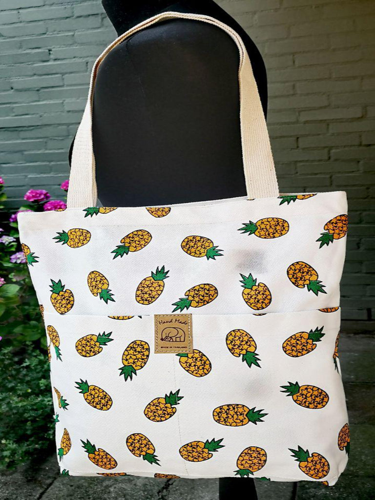 Fruit design collection - shopper - Pineapple