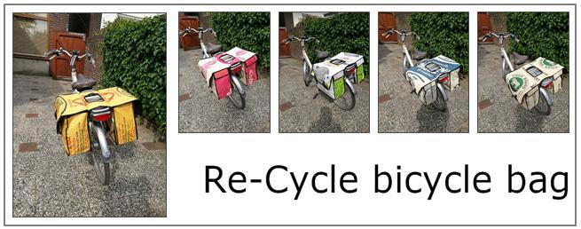 Re-Cycle bicycle bag