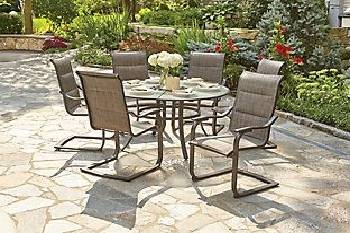 St Lucia 7pc Dining Set