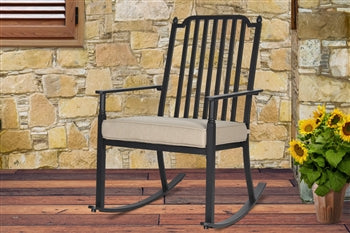 Cushion Rocking Chair Tan