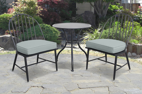 Rochelle Bistro Set Black