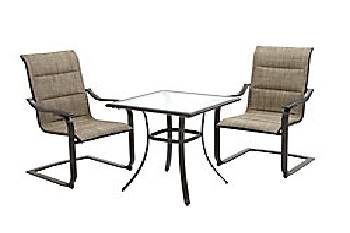 St Lucia 3pc Bistro Set