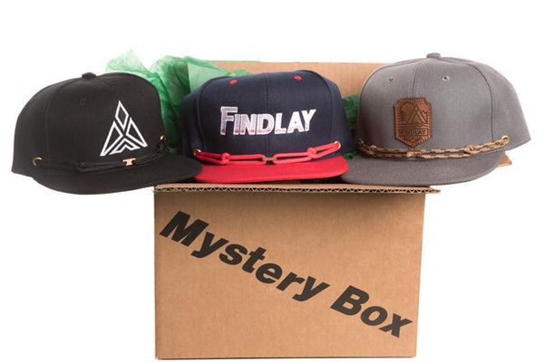 3 Hat - Mystery Box Hats Findlay Hats Snapback
