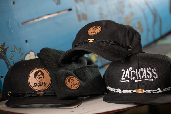 Zackass Collab tradeshow Findlay Hats All 5 Zackass Hats