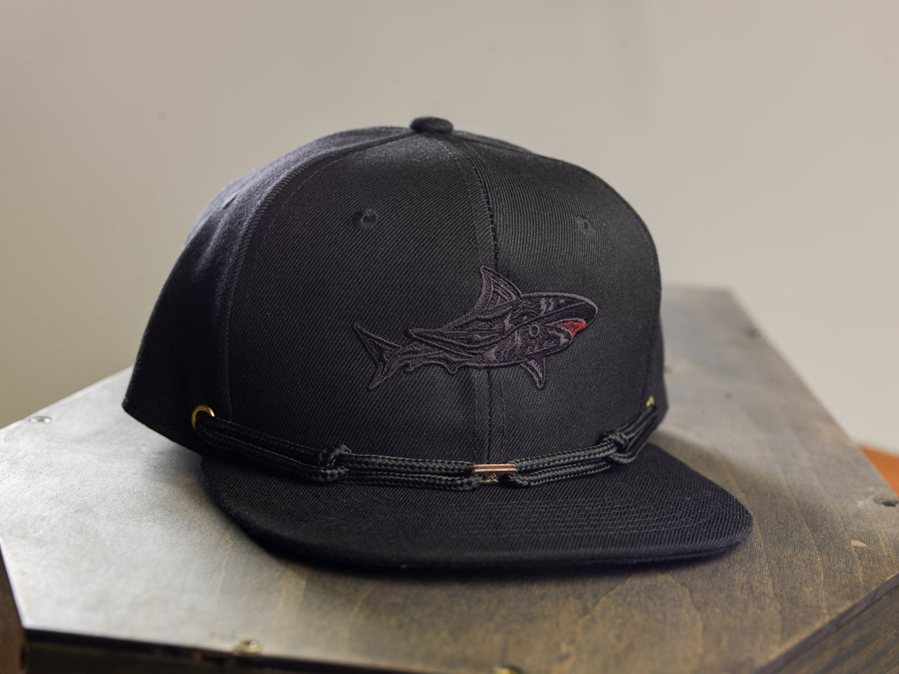 Blackout Shark (This Month Only) Limited Edition Hats Findlay Hats
