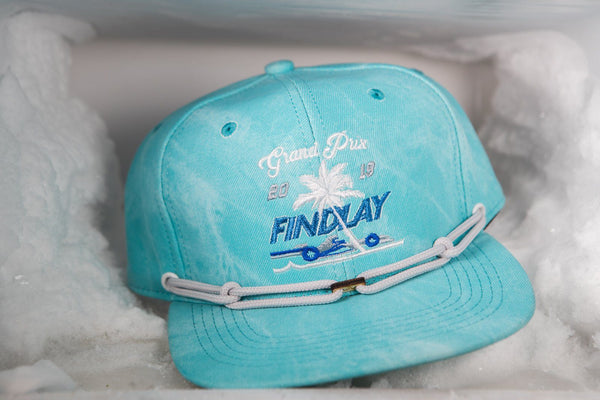 Frosty Circuit (1 of 1) Limited Edition Hats Findlay Hats