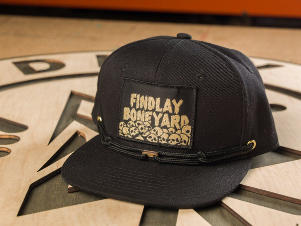 GOLD Boneyard Mystery Patch Hat (1 of 100) Limited Edition Hats Findlay Hats
